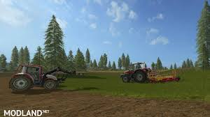 plantable spruce trees v 1 0 mod farming simulator 17