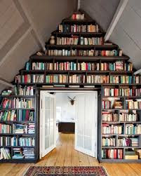 design your own home library a few bookcases and some shelves can turn an attic into your own