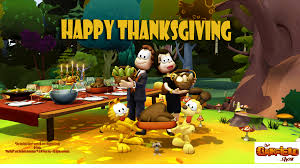 spread the word happy thanksgiving card 2011 the garfield show