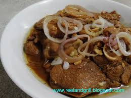 reel and grill pork bistek tagalog pork steak filipino style