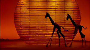 king of backdrops the lion king on broadway feel the tonight tv commercial