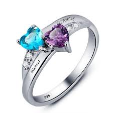 birthstone rings for birthstone rings birthstone promise ring promise rings with