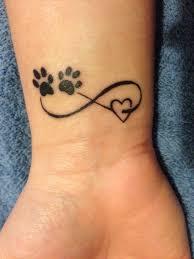 amei essa tatto por tudo ela significa love dog se eu