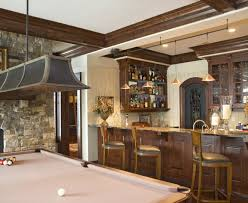 Rustic Pool Table Lights by Sumptuous Shuffleboard Table For Sale In Basement Rustic With Pool