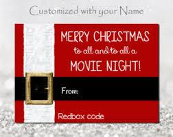 redbox code etsy