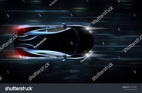 futuristic sports cars high speed black sports car futuristic stock illustration