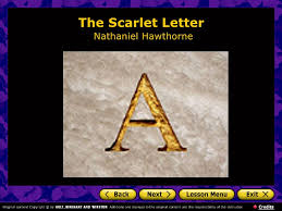 the scarlet letter sparknotes no fear by nathaniel the scarlet