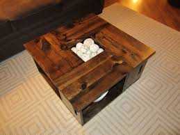 How To Make Wine Crate Coffee Table - coffee table wine crate table rixen it up diy coffee