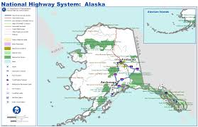Maps Of Alaska by Map Of Alaska Highway System Worldofmaps Net Online Maps And