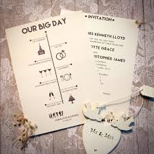 wedding invites timeline day invitation wedding invitations