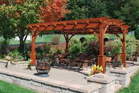 Decorative Wood Post Wood Naturally Inc Pergolas