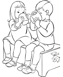 friend coloring pages coloring pages