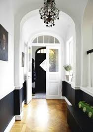 Diy Chair Rail Wainscoting Diy Chair Rail U0026 Contrast Color Could Also Do With A High End