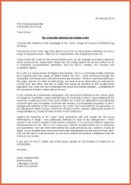 sample character reference letter bio example