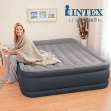 best intex double person air beds set in bedroom furniture