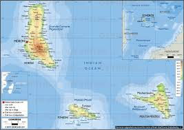 map comoros geoatlas countries comoros map city illustrator fully