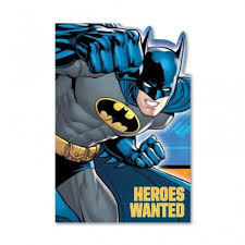 batman party invitations envelopes u0026 save the date stickers x 8 ebay