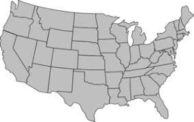outline map of us clipart free of united states map outline