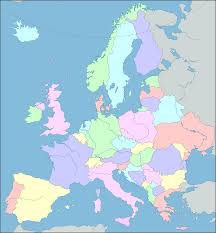 Blank Physical Map Of Europe by Interactive Map Of Europe Europe Map With Countries And Seas