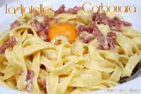 cuisine facile tagliatelle carbonara recettes faciles recettes rapides de djouza