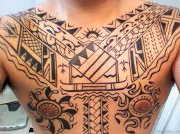 tattoo tribal chest 61 stylish tribal tattoos on chest