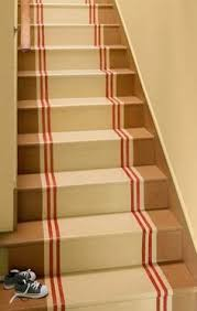 painted stairs love basement ideas pinterest basement