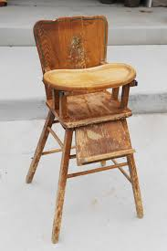 Antique Wooden High Chair Antique Wooden High Chair Without Tray Kashiori Com Wooden Sofa