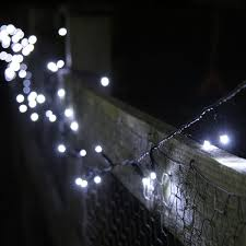 100 white led solar powered garden fairy lights by lights4fun co uk garden outdoors