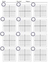 blank grid worksheet printable coordinate planes teaching math in a reality