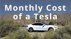 what is the monthly cost of a tesla youtube