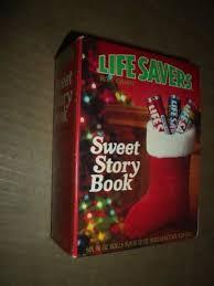 vintage lifesaver sweet story book unopened christmas present 10