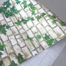 Self Adhesive Wallpaper Window Film U0026 Wallpaper 45cm Virginia Creeper Peel Stick