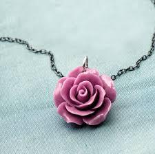 rose flower necklace images Bakelite rose flower necklace by grace valour jpg