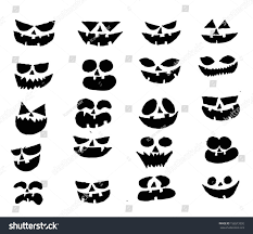halloween theme background happy halloween theme halloween background pumpkin stock vector