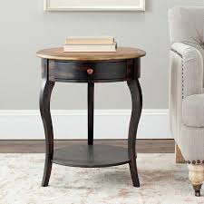 wood end tables with drawers best popular round end tables with drawers for house plan 1pop info