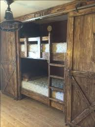 Making Wooden Bunk Beds by Best 25 Farmhouse Bunk Beds Ideas On Pinterest Farmhouse Kids