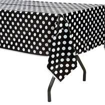 red white polka dot table covers red polka dot table cover shindigz