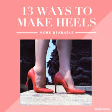 Most Comfortable Work Heels 13 Tips That Will Help Take The Pain Out Of Wearing High Heels