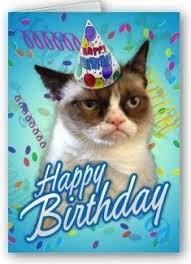 Grumpy Cat Birthday Memes - grumpy cat clipart happy birthday pencil and in color grumpy cat