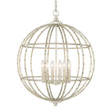 Lighting Fixture Company by Faux Bamboo Orb Orb Chandelier Faux Bamboo And Chandeliers