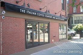 Retractable Awnings Boston Commercial Retractable Awnings Atlantic Awning