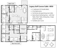 legacy homes floor plans legacy lodge 850 brainerd golf course cabin rental