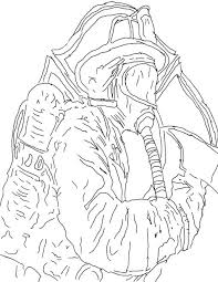 coloring pages alluring firefighter coloring firefighter