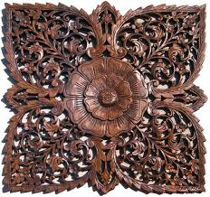 wood flower decorative wall plaques creative decorative wall