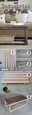 how to build an easy table 15 easy diy coffee tables you can build on a budget industrial