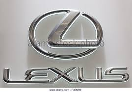 lexus symbol lexus logo stock photos lexus logo stock images alamy