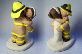 fireman cake topper choosing fireman cake toppers for your wedding cake wedding planning