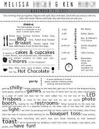 Wedding Bulletins Examples 7 Best Images Of Fun Wedding Program Templates Wedding Program