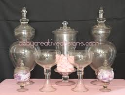 Apothecary Jars For Candy Buffet by Glass Jar Rental Its More Than Just A Party