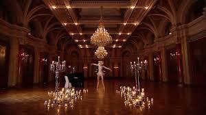 Ballerina Chandelier Ballroom Ballet Staging Switzerland Hd Stock Video 169 677